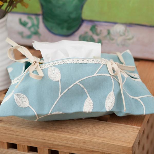 Panno Tissue Box Covers per tovaglioli di carta igienica casa Decorazione Accessori Sedile Tipo coreana Tissue Holder Box QQP221 moderna