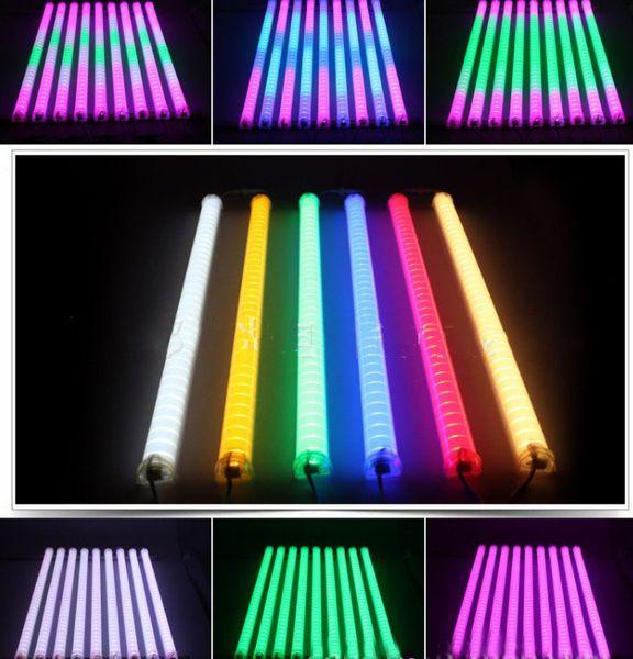 best selling LED Neon ba Sign IP 66 LED Digital Tube LED DMX tube color change waterproof outside colorful tubes building decorating tube light sportligh