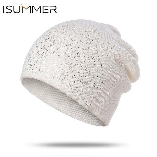 Compre ISummer Mujeres Beanie De Punto Skullies Gorros Sombreros ...