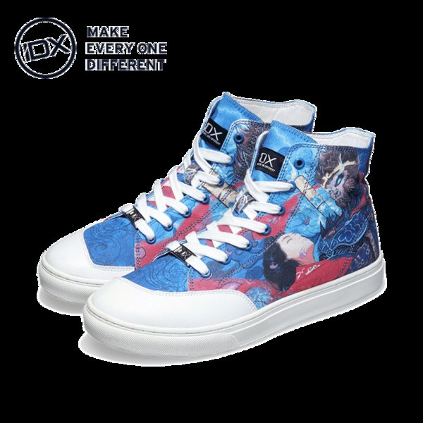 IDX Crazy in love comfortable original fashion graffiti shoes man