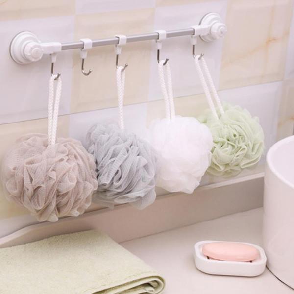 Multicolour Super Soft bathsite bath tubs Massage ball bath flower towel scrubber Body cleaning Mesh Shower wash Sponge product