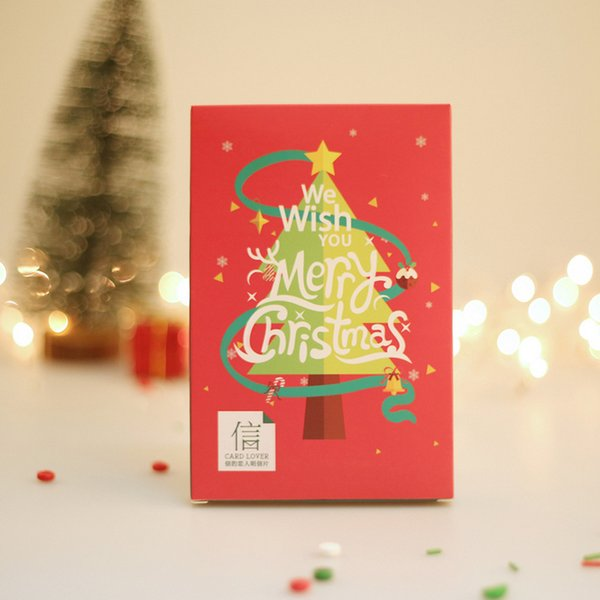 Christmas Card Message.Lover Brand Merry Christmas Postcard Greeting Card Christmas Card Birthday Card Message Gift Cards Party Novelties Party Packs From Totwo8 8 7