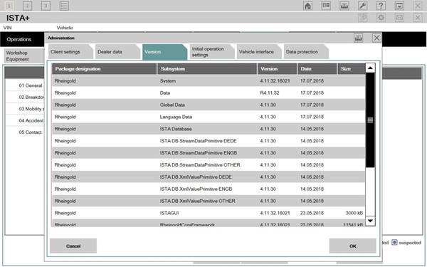 Newest V2018.07 HDD ISTA D4.11 P3.64 For Bmw Icom A2 A3 Or Next Diagnosis