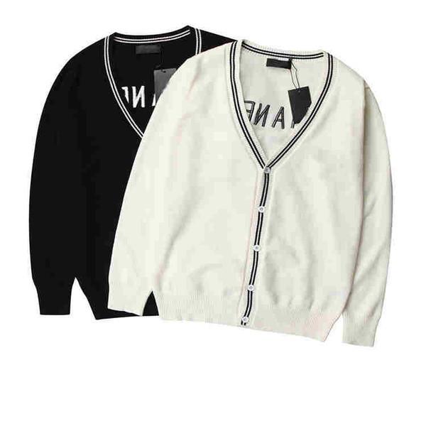 Compre Hot New Women Designer Cardigan Sweaters Color Sólido Marca ...