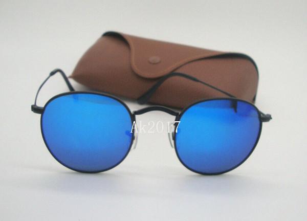Schwarz Blau Spiegel