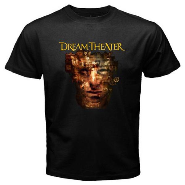 New DREAM THEATER * Szenen aus einem Speicher Rock Band Männer Schwarz T-Shirt Größe S-3XL Tops Sommer Cool Funny T-Shirt