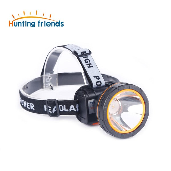 12pcs/lot LED Headlamp Waterproof Headlight Rechargeable Head Lamps Mining Head Flashlight Torch for Hunting Camping Fishing
