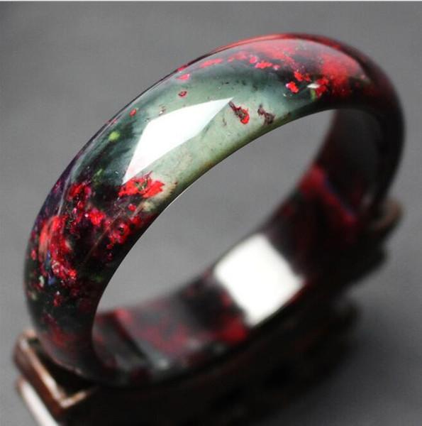 Um genuíno pêssego pulseira de pêssego jade pulseira feminina pulseira atacado
