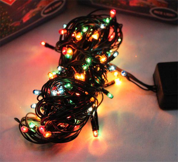 Décorations De Noël Coloré LED Millet Lumières Lanternes Arbre Décoration Lumières De La Lumière Flash