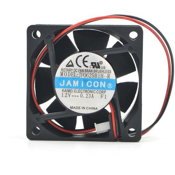 Jamicon 6025 6CM 12V JF0625B1H-R Dual-Ball-Inverter stummschalten Lüfter