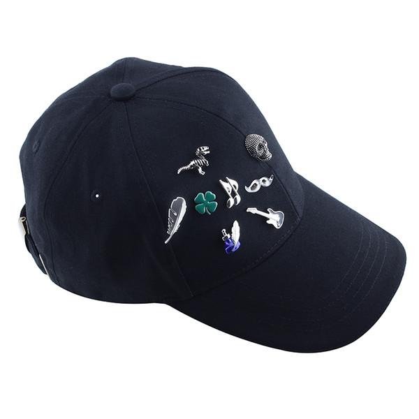 Goupilles d'épingle d'embrayage de bouteille d'encre bleue Safe Backing Lock Broches épingles Pins accessoire de bijoux pour votre chemise de chapeau