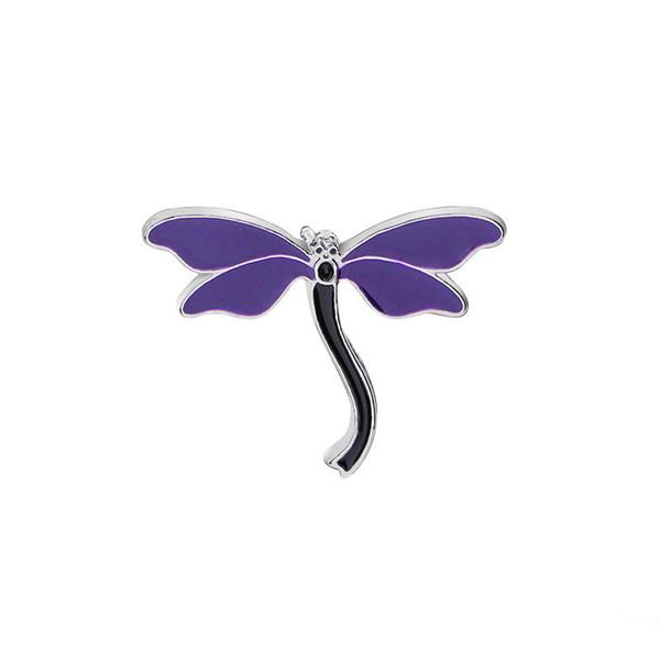 Nette Libelle Tier Emaille Pin Brosche Abzeichen Denim Jacken Hemd Kragen Revers Pin Badge Kleidung Schmuck