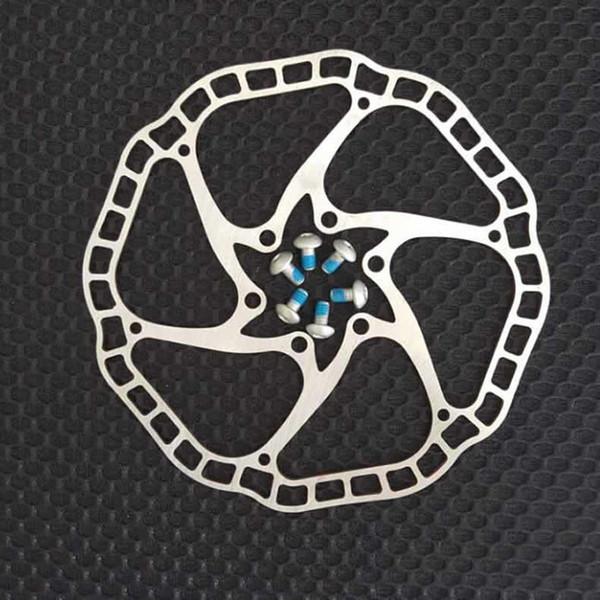 68g/pc Ultra-light Bicycle Hydraulic Disc brake Rotors MTB bike Road Racing Bike Brake Disc Rotor 140mm / 160mm 44mm 6 bolts