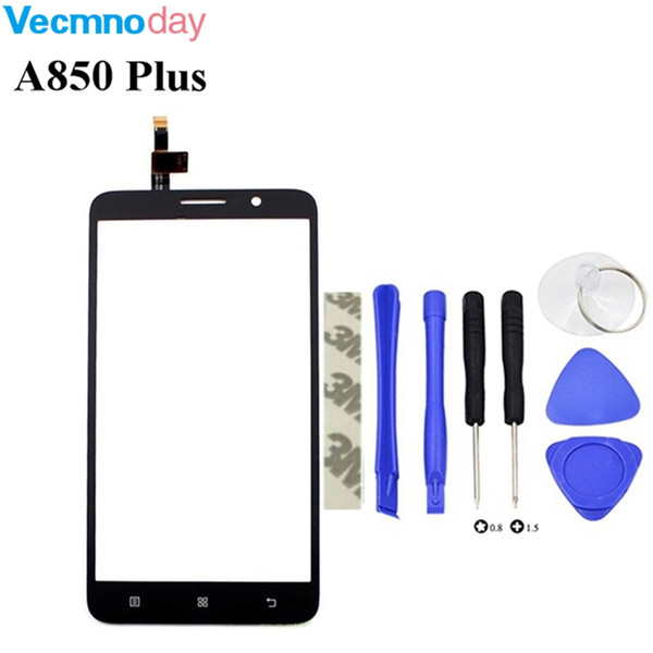 Vecmnoday 5.5'' Touch Panel Sensor For Lenovo A850 Plus A850+ Touch Screen Digitizer Glass Replacement Touchscreen Tools