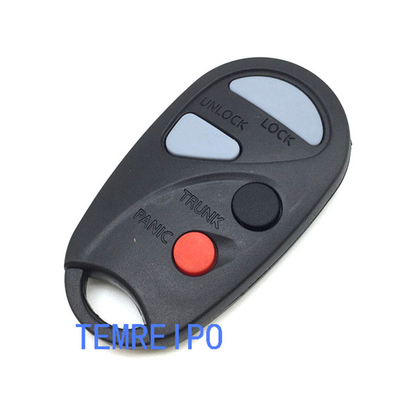 Keys for Nissan Maxima 3+1 buttons remote case car key case teana key with battery holder