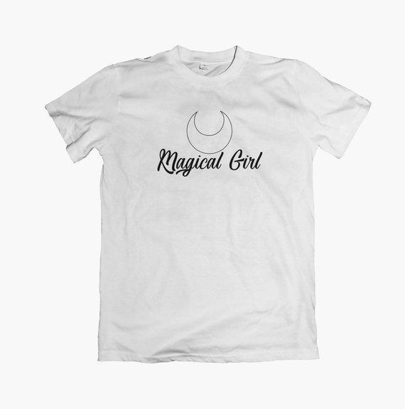 Magical Girl T-shirt, Unisex, Women's, Magic, Anime, Cute, Pop Culture, Sailor Moon, Tops, Tees Graphic Tees