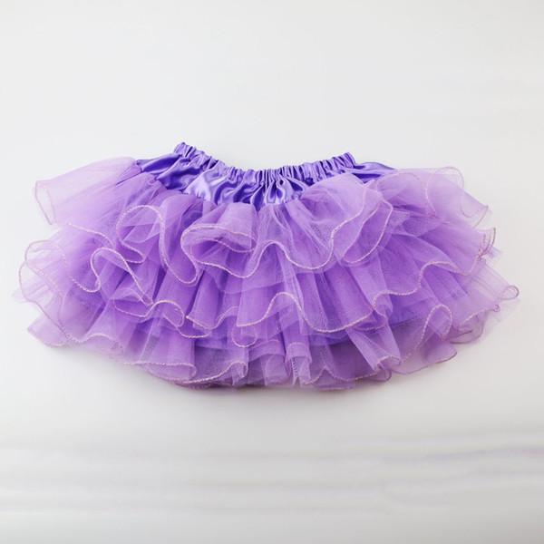 Wennikids Summer Baby Girl Candy Colore mezza lunghezza Tulle Tutu Gonna colore solido all'ingrosso Fashion Ball Gown Età 2-7