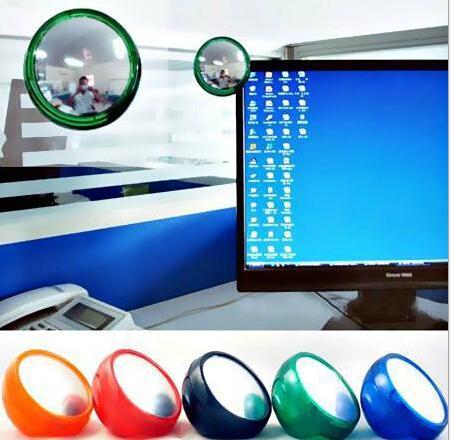 Creative ordinateur rond miroir de protection de la vie privée miroir de protection 7,5 cm de diamètre espelhos Espejos livraison gratuite