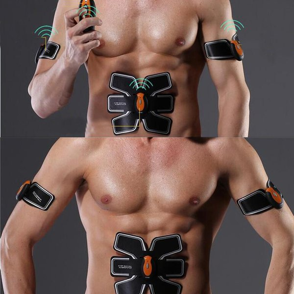 Wireless Muscle Training Gear Abs Training Fit Body Exercise Suit Shape Fitness With 6 Modes 10 Types Strength