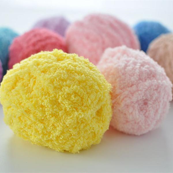 Hand knitting yarn Skin-friendly crocheting soft yarn baby wool for sweater overcoat scarf hat blanket shoes knitting DL_KNT039