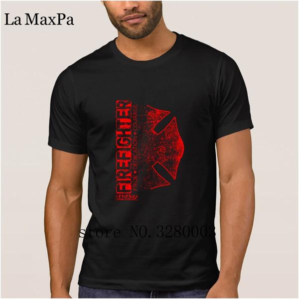 33210d2b7 New Style T Shirt For Mens Firefighter Pride Dedication Courage T Shirt Men  Spring Normal Tee Shirt Man Streetwear Pop Top Tee Printing Tee Shirts ...