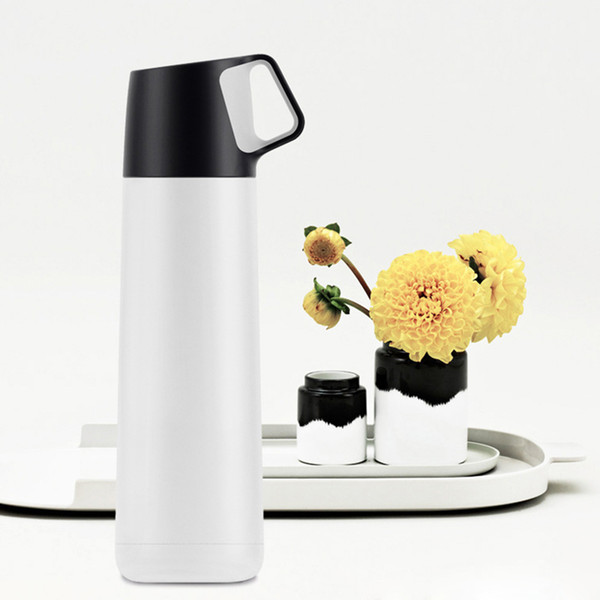Vacuum Thermos Bottle Tumbler Thermocup Leakproof Stainless Steel Travel Thermal Mug Coffee Vacuum Flask Cup Drink Bottles 500ml