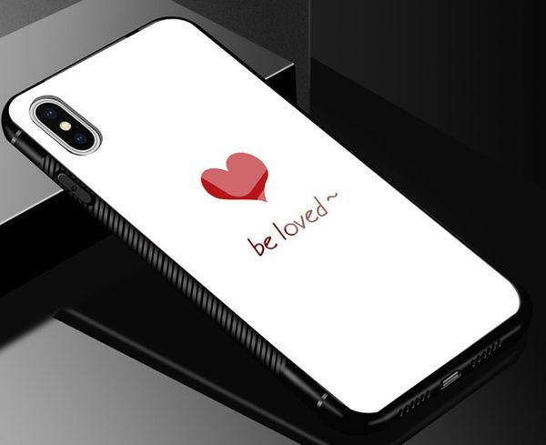White-love heart