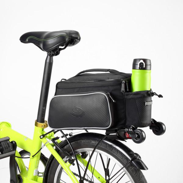 ROSWHEEL Radfahren Tasche 10L Fahrrad Fahrrad Gepäckträger Sitz Tasche Ledertasche Outdoor Reisen Fahrrad Zubehör