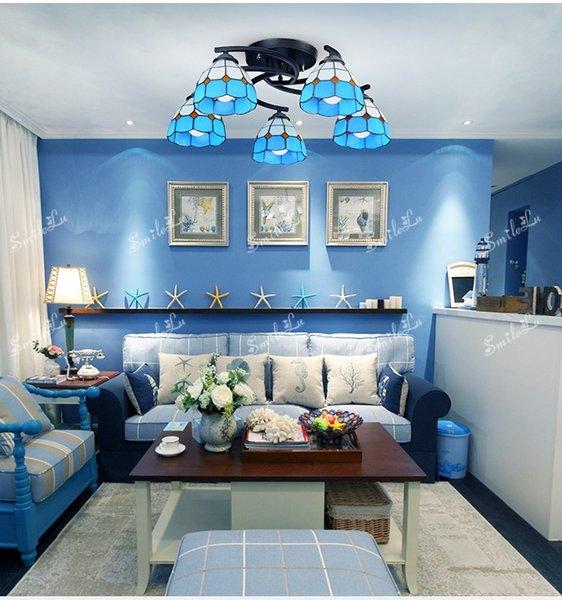 blue 5 lights