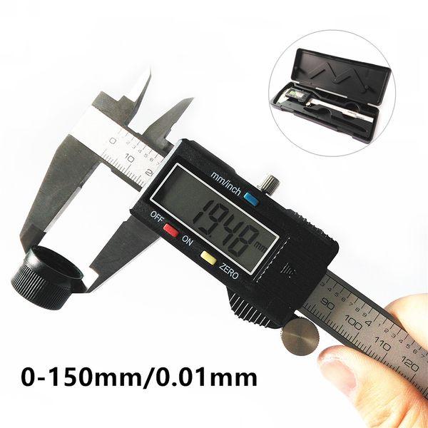 0-150mm 0.2mm Plastic Dial Calipers Digital Vernier Calipers Measuring Tooling