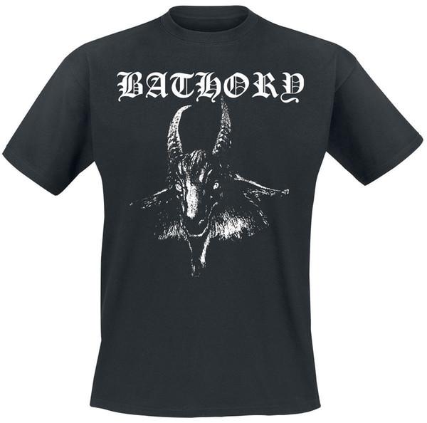 Bathory Goat T-Shirt schwarz Cooles xxxtentacion T-Shirt Markenhemden Jeans Druck Klassisches, hochwertiges T-Shirt
