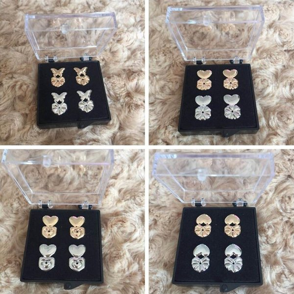best selling New Fashion Magic Bax Earring Backs Support Earring Lifts Fits All Post Earrings With Box