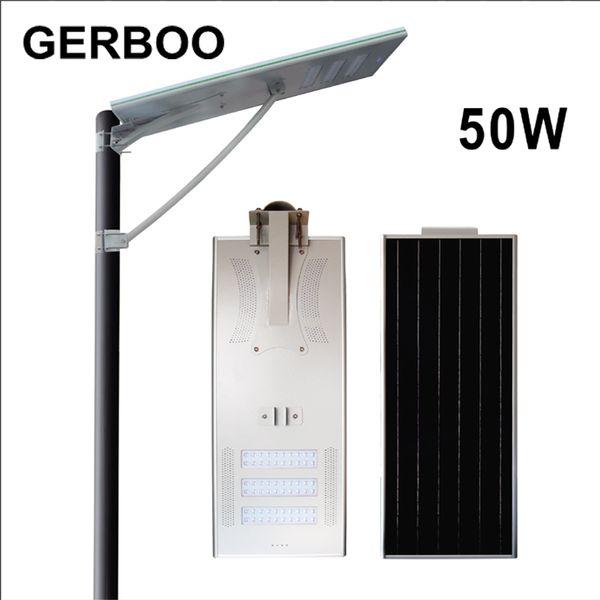 Wholesale- Satisfactory Prices Of Solar Street Light/Solar Street Lamp 50W IP66 With Bridgelux LED Chip
