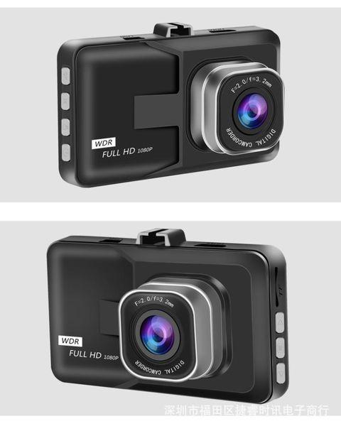 3.0inch CAR DVR FULL HD 1080P Car Camera 170 Degree Angle Dash Cam G-sensor Night Vision Video Recorder Black Kingkong 10PCS/LOT