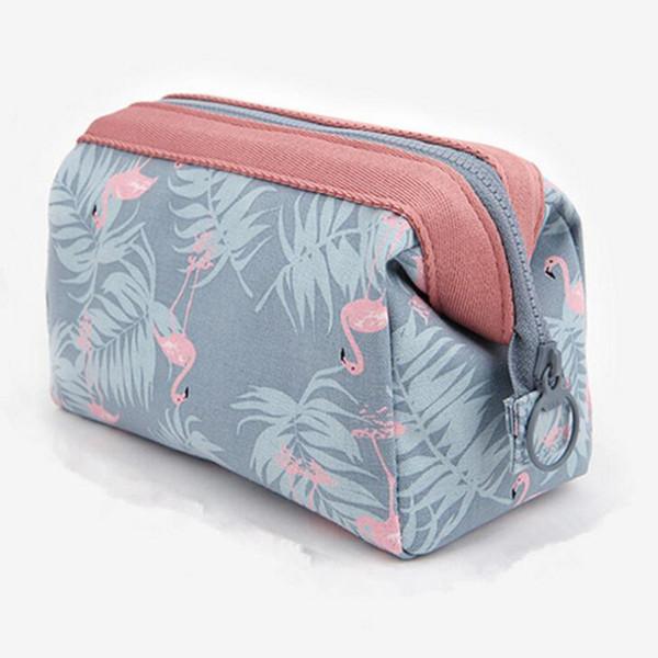 Creativo Flamingo Cosmetici Borse Moda Multifunzione Kit di cortesia ad alta capacità per il viaggio coreano conveniente sacchi di roba