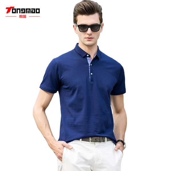 quality buy popular top quality Acquista TONGMAO Abbigliamento Camicia Da Uomo Summer Business Casual  Girocollo A Maniche Corte T Shirt Da Uomo Slim A $28.55 Dal Vickay |  DHgate.Com