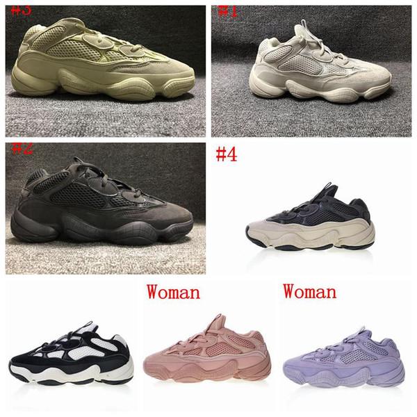 2019 Top 500 Blush Desert Kanye West 500 yung 1 Wave Runner 500 Rat Кроссовки мужская обувь дизайнерская обувь
