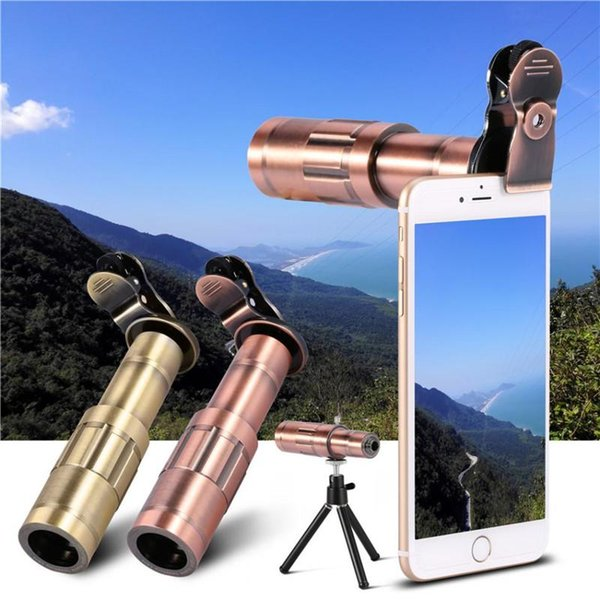 20x Zoom Optical Telescope Camera Telephoto Lens For Smartphone Universal Portable Mobile Phone lens for iphone/Samsung Android HX-2006