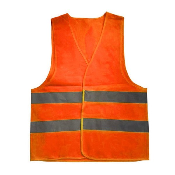 XL-3XL Plus Size Reflective Vest Car Working Clothes Provides High Visibility Day Night For Running Cycling Warning Safety Vest