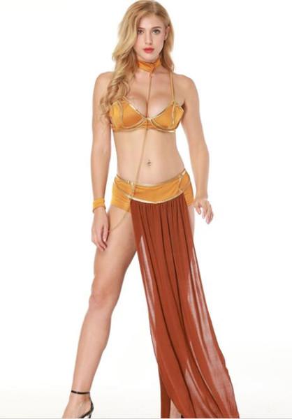 Women Halloween Costume Sexy Queen Gorgeous Dress Female Cosplay Dancing Party Wear Floor Length Dresses