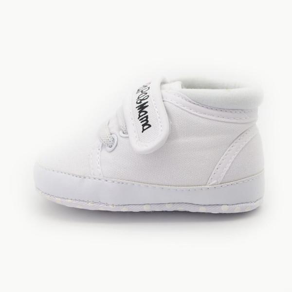I Love Mother Dad Design Babies Scarpe Unisex Kids Classic Sneakers sportive per neonati da 0 a 15 mesi primi camminatori all'ingrosso
