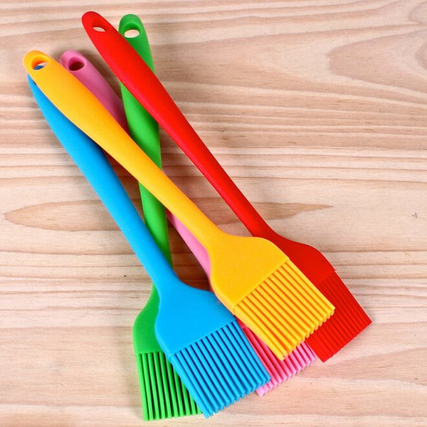 Free Shipping Silicone Baking Bread Cook tools Pastry Oil Cream BBQ Utensil safety Basting Brush for cooking Pastry Tools ss626