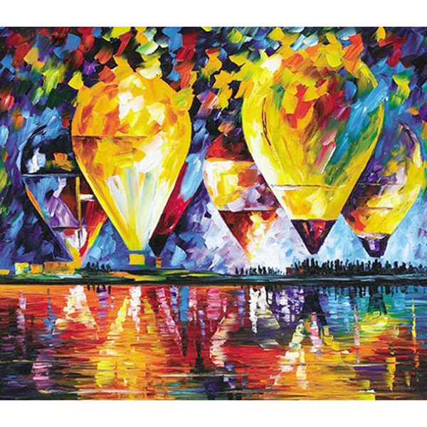 2019 Balloon Diy Diamond Painting Kit 5D DIY Cross Stitch Full Diamond  Embroidery 3D Diamond Mosaic Painting Christmas Gifts Home Decor From