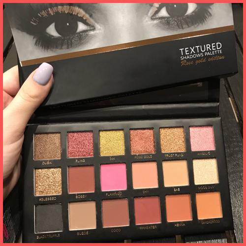 best selling Free Shipping by ePacket 18 Colors Eyeshadow Palette Rose Gold Textured Palette New Nude Eye shadow Beauty Palette Matte Shimmer with Gifts