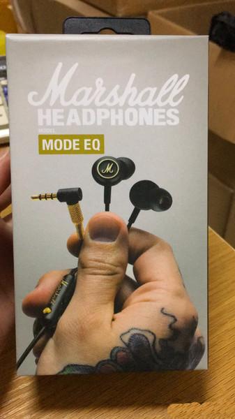 Marshall Mode EQ Auriculares con micrófono DJ Hi-Fi Headset HiFi Headset Profesional DJ Monitor Auricular para teléfono móvil Ordenador