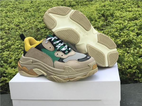 Paris Triple-S Designer Chaussures Luxe Baskets Basses Triple S Chaussures de travail pour hommes et femmes Sports de plein air Chaussures de sport de taille 36-45