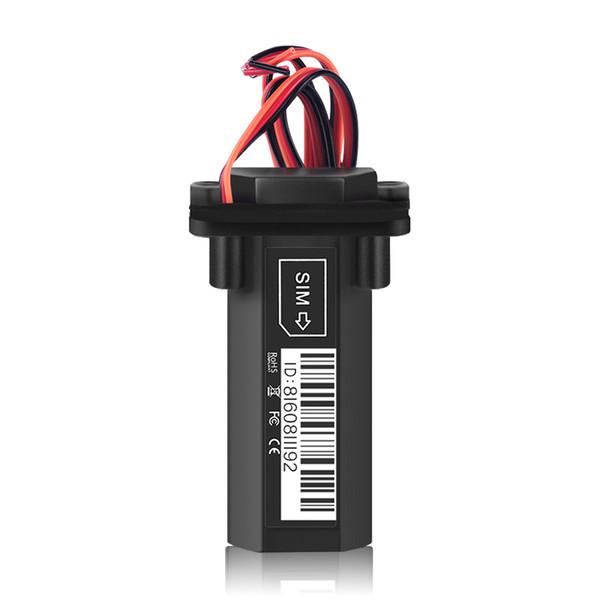 Mini Impermeable Coche Motocicleta Motor Rastreador GPS Batería incorporada En tiempo real GSM Localizador GPS para dispositivo de seguimiento de vehículos en línea