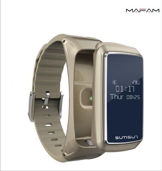 Bluetooth B7 Smart pulsera Bluetooth auriculares combinación teléfono escuchando podómetro de ritmo cardíaco podómetro para Apple teléfono móvil