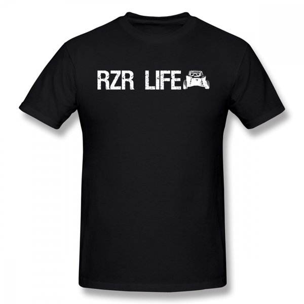 Cool Tee Male Rzr Life 2 Atv / Utv Tees Offroad Mud Trail Riding T Shirt Cheap 3d Print For Boy T Shirt