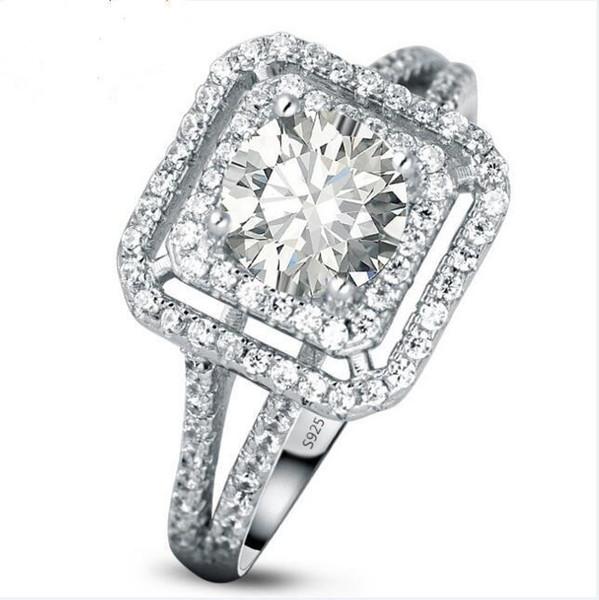 3 Generationen IJ Farbe Primaries weiblich Diamant Bohren, Diamant Ehering, Ring Valentines Special